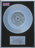 "DAVID CASSIDY - 7"" Platinum Disc - COULD IT BE FOREVER"
